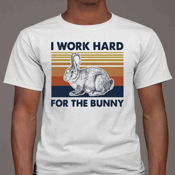 I Work Hard For The Bunny Vintage T-shirt M By AllezyShirt