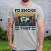I'd Smoke That Cow Pig Chicken Weed Shirt S By AllezyShirt