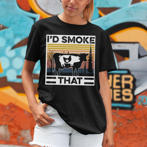 I'd Smoke That Vintage Shirt S By AllezyShirt