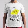 I'm From Utica I'm Was Born With An Attitude T-shirt M By AllezyShirt