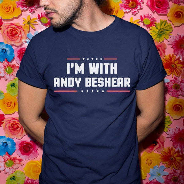 I'm With Andy Beshear Shirt S By AllezyShirt