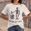 I've Got Your Back Skull  Halloween T-shirt M By AllezyShirt