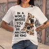 In A World Where You Can Cat Art T-shirt M By AllezyShirt