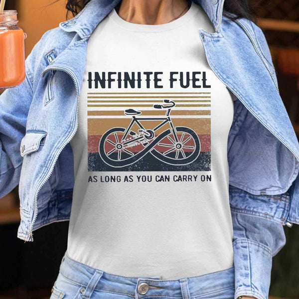 Infinite Fuel As Long As You Can Carry On Vintage T-shirt S By AllezyShirt