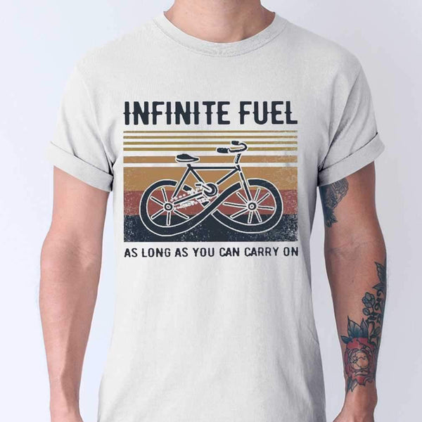 Infinite Fuel As Long As You Can Carry On Vintage T-shirt M By AllezyShirt