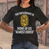 International Union Painters And Allied Trades The Difference Is None Of Us Almost Joined T-shirt M By AllezyShirt