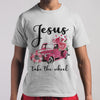 Jesus Take The Wheel Flowers Car Shirt S By AllezyShirt