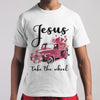 Jesus Take The Wheel Flowers Car Shirt M By AllezyShirt