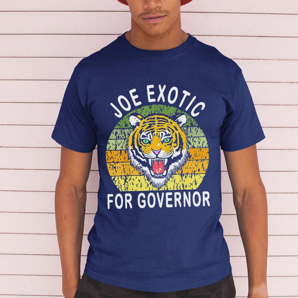 Joe Exotic For Governor Vintage Shirt