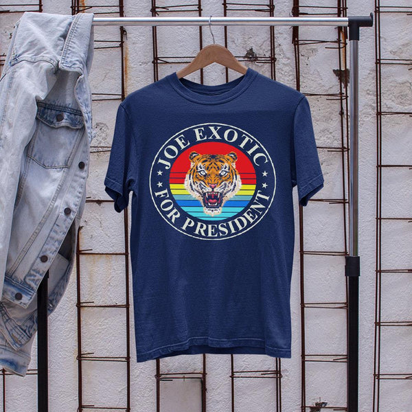 Joe Exotic For President 2020 Vintage Shirt S By AllezyShirt
