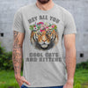 Joe Exotic Tiger Hey All You Cool Cats Shirt M By AllezyShirt
