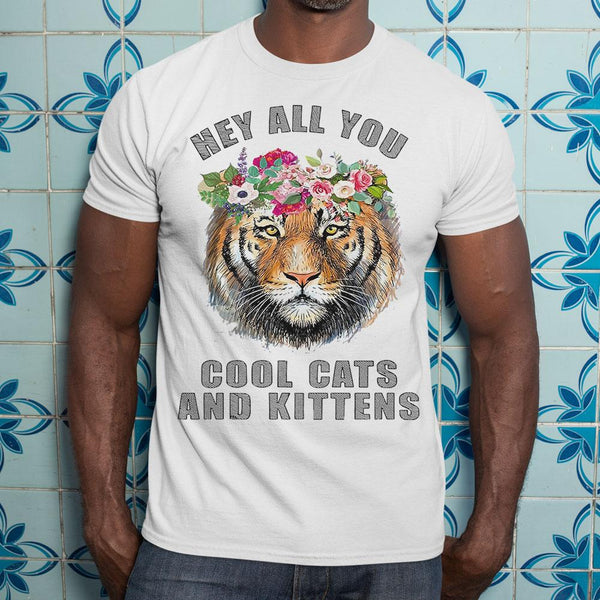 Joe Exotic Tiger Hey All You Cool Cats Shirt S By AllezyShirt