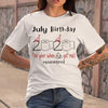 July Birthday 2020 Quarantined Shirt S By AllezyShirt