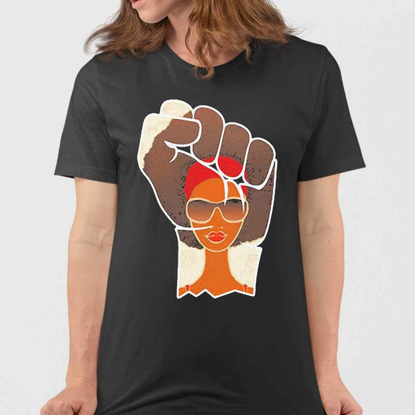 Juneteenth Day Black Woman T-shirt M By AllezyShirt