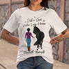 Just A Girl Who Loves Horse Elizabeth Midnight T-shirt S By AllezyShirt