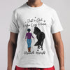 Just A Girl Who Loves Horse Elizabeth Midnight T-shirt M By AllezyShirt