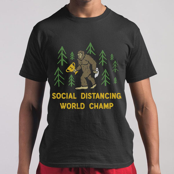 King Kong Social Distancing World Champ T-shirt S By AllezyShirt