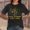 King Kong Social Distancing World Champ T-shirt M By AllezyShirt
