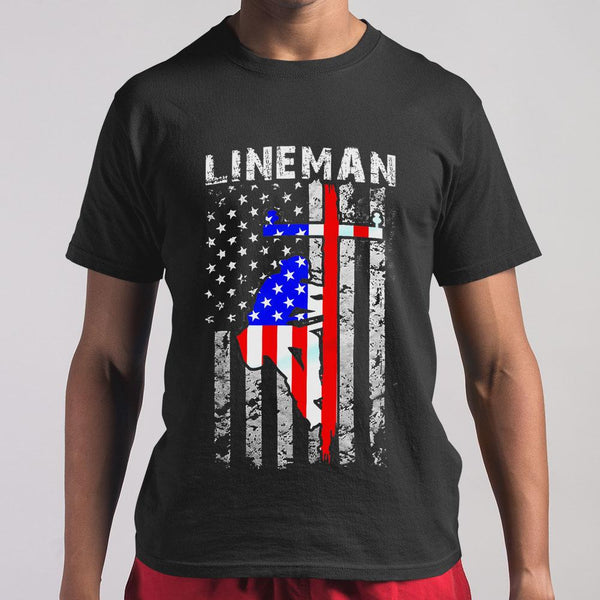 Lineman T-shirt S By AllezyShirt