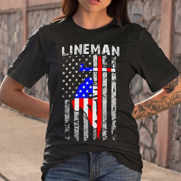 Lineman T-shirt M By AllezyShirt