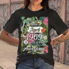 Made In April 1969 51 Years Of Being Awesome Flowers T-shirt S By AllezyShirt