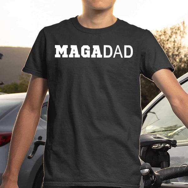 Maga Dad Make American Great Again T-shirt S By AllezyShirt