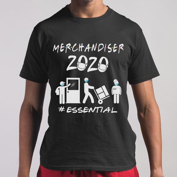 Merchandiser 2020 Essential Covid-19 T-Shirt S By AllezyShirt