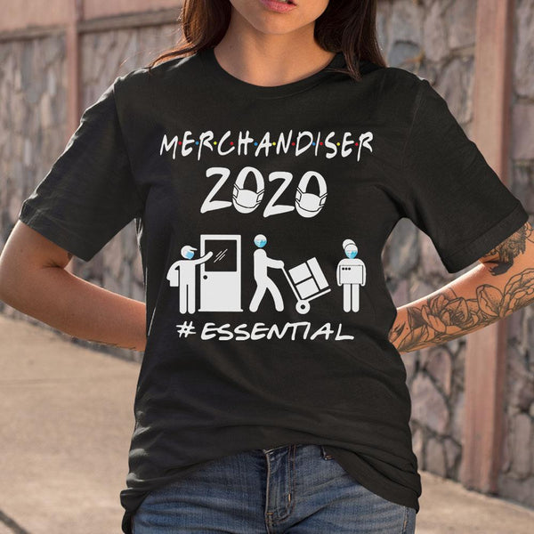 Merchandiser 2020 Essential Covid-19 T-Shirt M By AllezyShirt