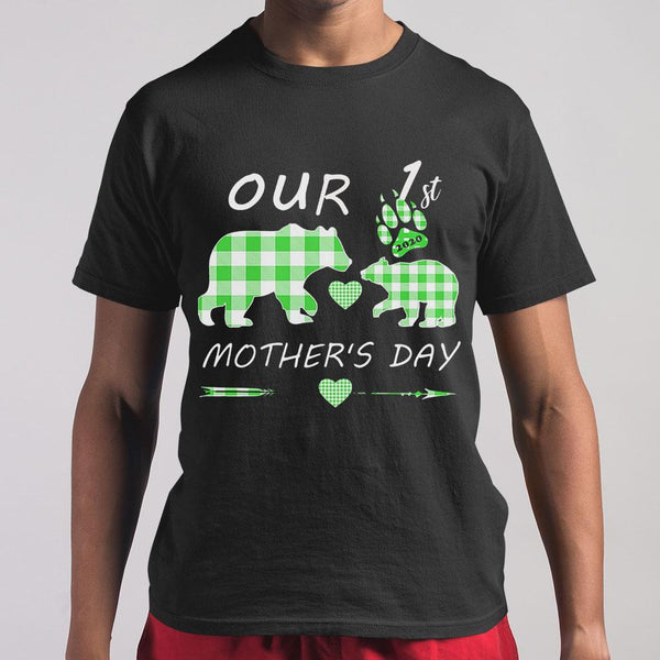 Mother Bear Our 1St Mother's Day T-shirt M By AllezyShirt