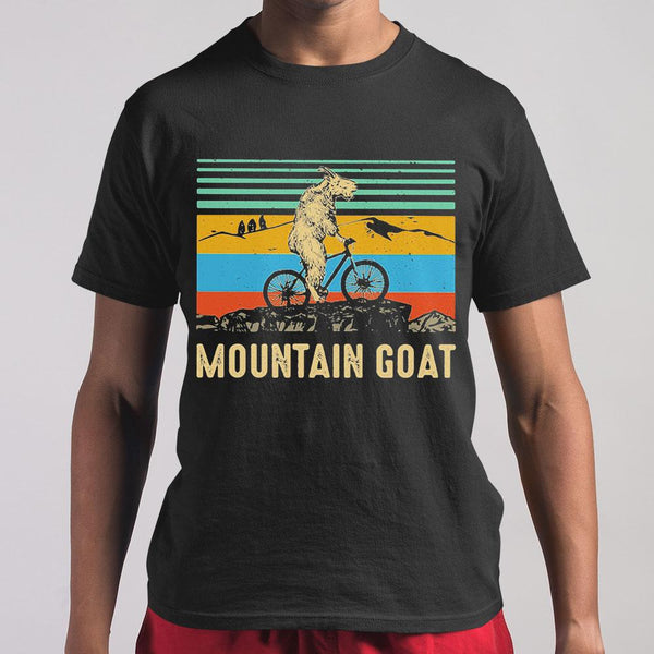 Mountain Goat Ride Bicycle Vintage Shirt M By AllezyShirt