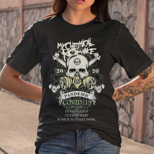 My Chemical Romance Pandemic Covid 19 Shirt S By AllezyShirt