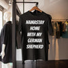 Namastay Home With My German Shepherd Shirt S By AllezyShirt