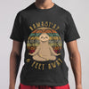 New Sloth Namastay 6 Feet Away Shirt M By AllezyShirt