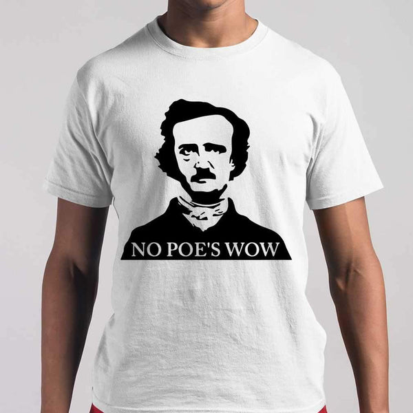 No Poe's Wow T-shirt M By AllezyShirt