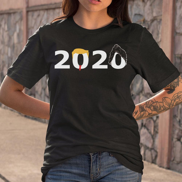 Official 2020 Donald Trump T-Shirt M By AllezyShirt
