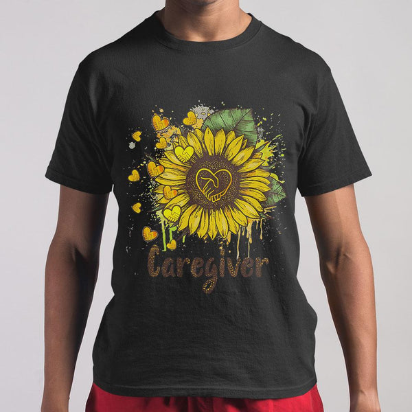 Official Sunflower Caregiver Shirt S By AllezyShirt