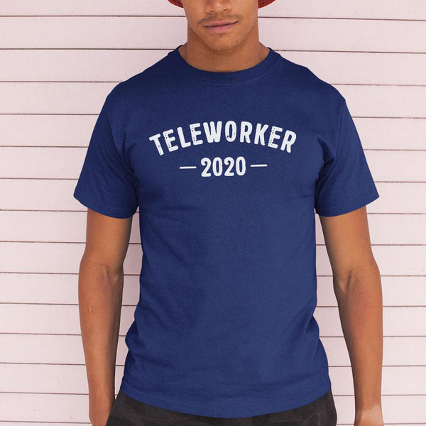 Official Teleworker 2020 Black Shirt M By AllezyShirt