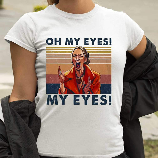 Oh My Eyes My Eyes Phoebe Vintage Retro T-shirt S By AllezyShirt