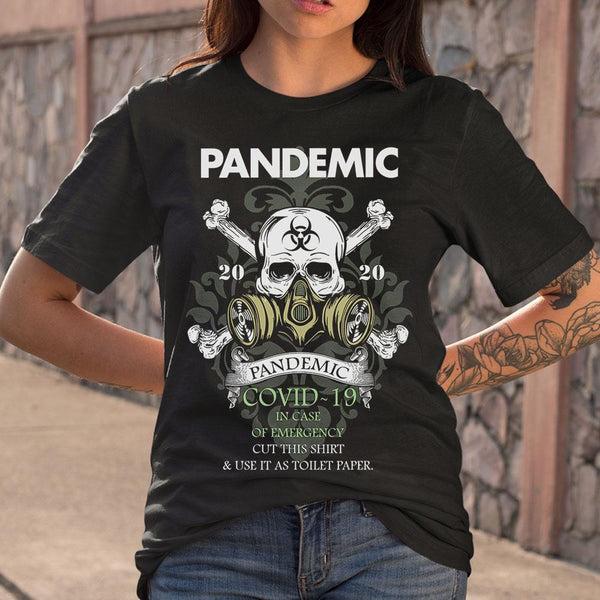 Pandemic Covid-19 Use It As Toilet Paper T-shirt M By AllezyShirt