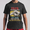 Papa The Man The Myth The Bad Influence Hands T-shirt S By AllezyShirt