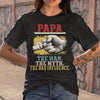 Papa The Man The Myth The Bad Influence Hands T-shirt M By AllezyShirt