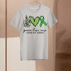 Peace Love Cure Cerebral Palsy Awareness Shirt M By AllezyShirt