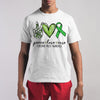 Peace Love Cure Cerebral Palsy Awareness Shirt S By AllezyShirt