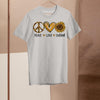 Peace Love Sunshine Sunflower Shirt M By AllezyShirt