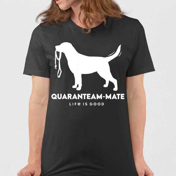 Quaranteam Mate Lab Life Is Good T-shirt S By AllezyShirt