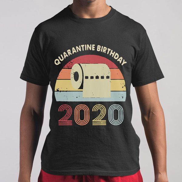 Quarantined Birthday Toilet Paper 2020 Vintage T-shirt S By AllezyShirt