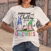 Quarantining And Chilling With My Gnomies T-Shirt S By AllezyShirt