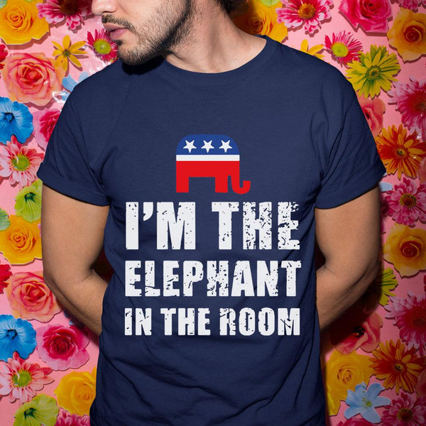 Republican I‰ÛªM The Elephant In The Room Shirt M By AllezyShirt