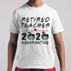 Retired Teacher 2020 Apple Quarantine Shirt M By AllezyShirt