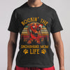 Rockin The Dachshund Mom Life Sunset Shirt S By AllezyShirt